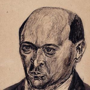 Arnold Schönberg in Mödling