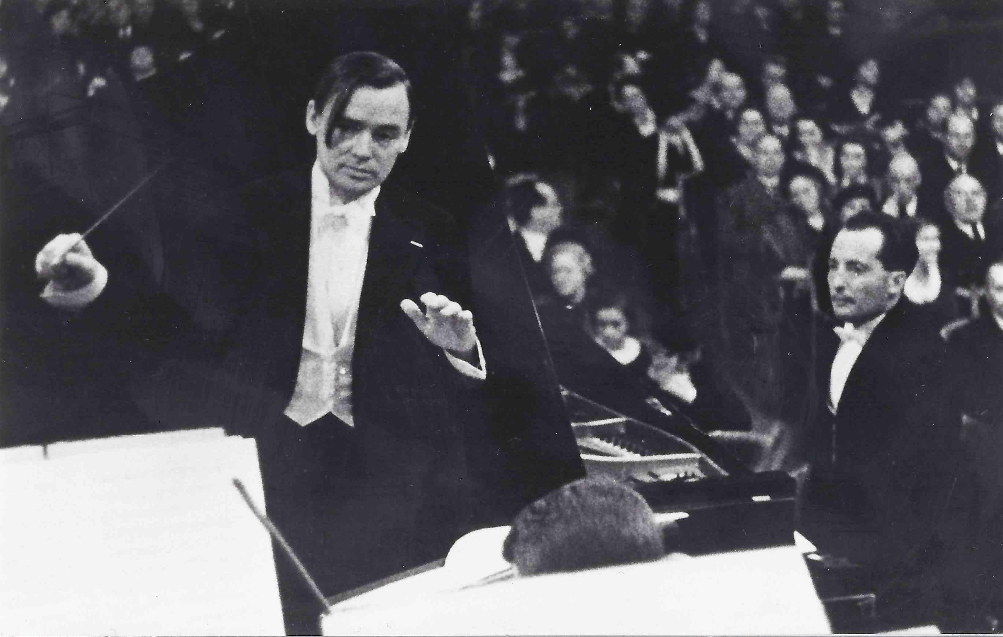 Konzert von Sprongl im großen Saal des Wiener Musikvereins