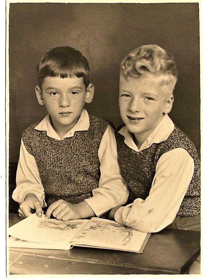 Die Zwillinge Werner und Wolfgang