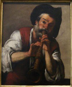 Pifferaio, Bernardo Strozzi, 1624/25.