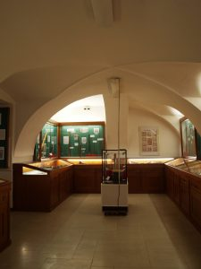 Ausstellungsraum, linke Hälfte