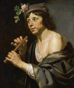 Hirt mit Flöte, Jan van Bijlert, zwischen 1630 und 1635.
