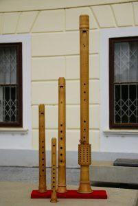 Blockflötensatz des Medelike Consort, Nachbauten nach Sebastian Virdung