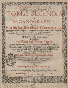 Titelblatt Organographia
