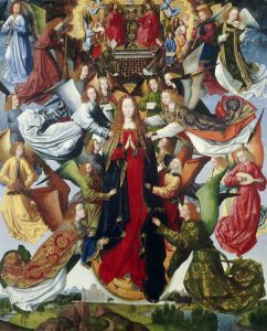 Master of the Saint Lucy Legend, Mary, Queen of Heaven, Netherlandish, active c. 1480 - c. 1510, c. 1485/1500, oil on panel, Samuel H. Kress Collection