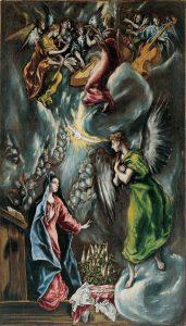 La Anunciación, El Greco
